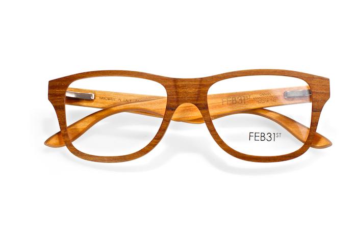 FEB31st Holzbrillen sind eingetroffen!