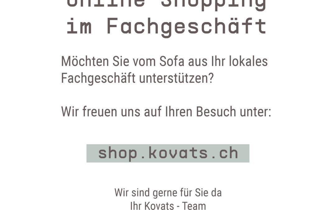 Online einkaufen im lokalen Geschäft