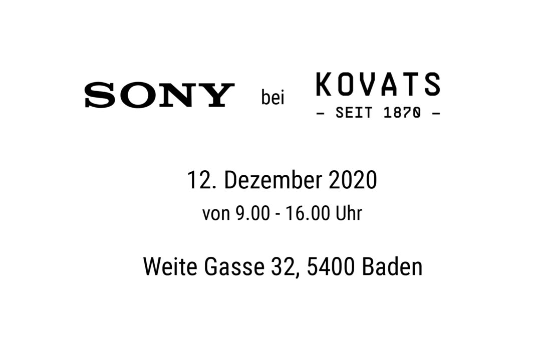 Sony-Event bei Kovats
